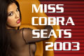 Miss Cobra Race Seats 2003
