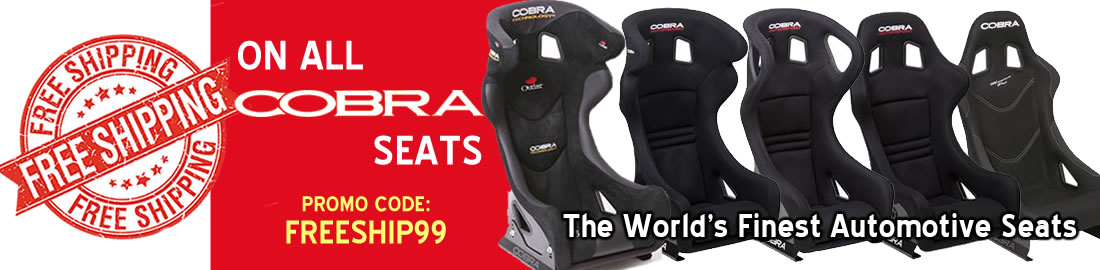 Free Shipping on All Cobra Seats