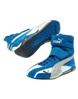 ... Puma Kart Cat Hi karting Blue Shoes 632ee874b